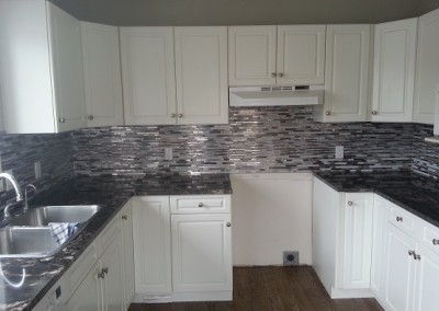Stainless Steel on Backsplash