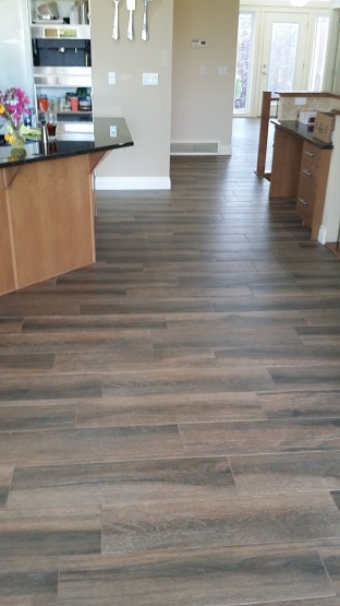 Hardwood-Look Tile