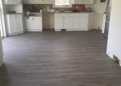 Vinyl Plank in Kitchen