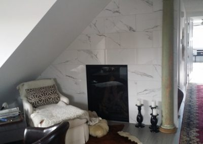 Marble on Fireplace
